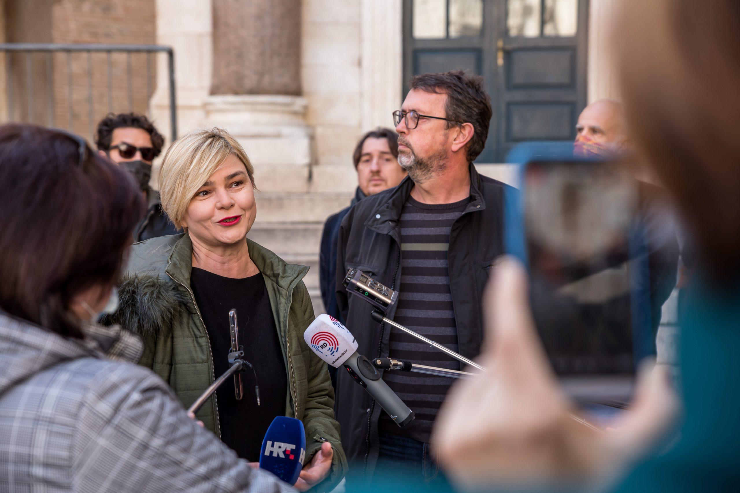 VIDEO Sandra Benčić: Glasajte za istinsku promjenu