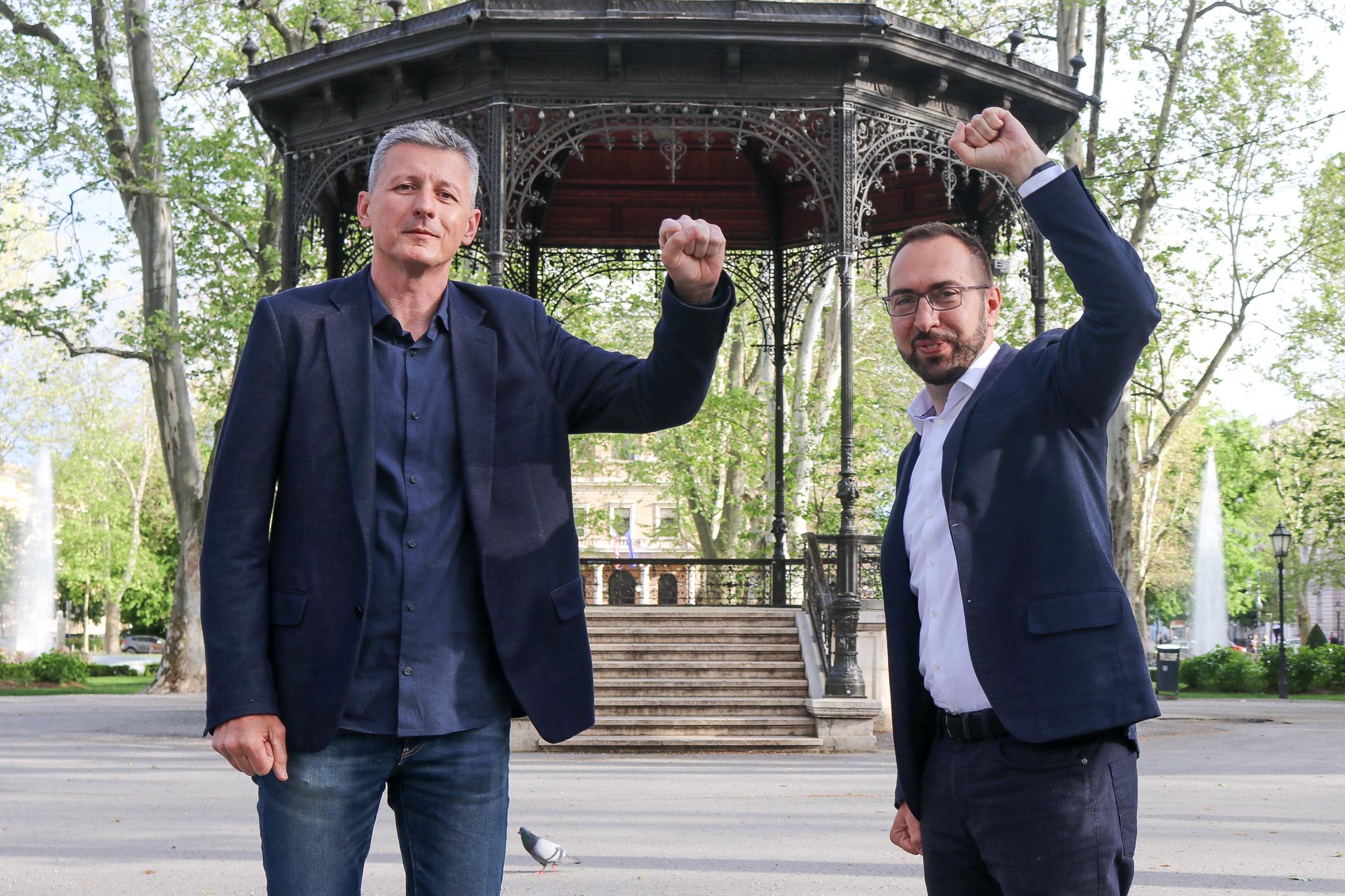 VIDEO Prkić i Tomašević – vjesnici promjene